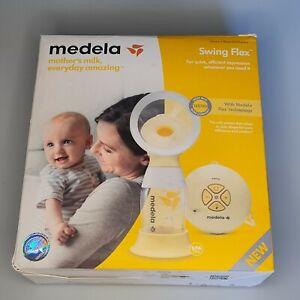 Medela Single Swing Flex Electric 2-Phase Breast Pump NEW OPEN BOX