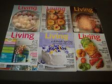 2013 MARTHA STEWART LIVING MAGAZINE LOT OF 10 ISSUES - NICE PHOTOS - O 2045