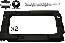 Blanc piquer 2X vitre arrière panneau garniture en cuir couvre pour defender 110 sw 83-16
