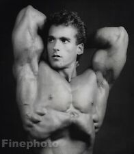 1984 Vintage BOB PARIS Male Nude Bodybuilder Muscle Photo By ROBERT MAPPLETHORPE