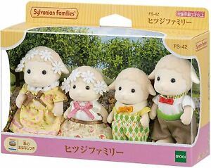 Sylvanian Families Calico Critters SHEEP FAMILY  FS-42 Japan
