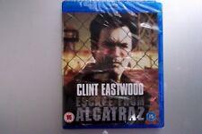 ESCAPE FROM ALCATRAZ Brand New Sealed BLU-RAY Movie 1979 Clint Eastwood Film
