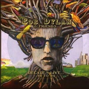 BOB DYLAN & FRIENDS - DECADES LIVE... 61 To 94 180G Vinyl Picture Disc LP (NEW)