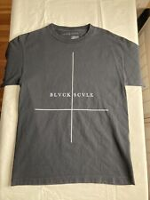 Black Scale BLVCK SCVLE Graphic T Size M Black Cotton Made in USA