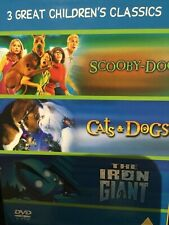 Children's Classic Triple - iron giant/cats & dogs/scooby do the movie