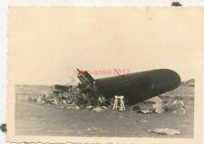 Foto, Blick auf ein Flugzeug Wrack  (N)19543
