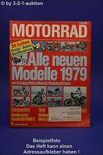 Motorrad 5/79 Honda CBX Harley GS Suzuki GS 1000