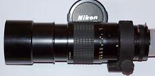 Téléobjectif NIKON Nikkor AI-S 300mm 4,5 MF