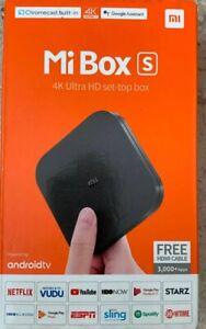 Mi Box S 4K Ultra  HDR Set-Top Box.