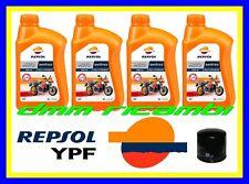 Kit Tagliando SUZUKI GSR 600 08>09 + Filtro Olio REPSOL 10W40 GSR600 2008 2009