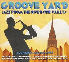 GROOVE YARD - JAZZ FROM THE RIVERSIDE VAULTS  - 45 ORIGINALS  (NEW SEALED 3CD)