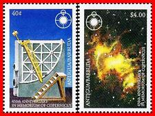 ANTIGUA 1993 COPERNICUS / SET   SPACE/ASTRONOMY  MNH ** WE HAVE the S/S ALSO !