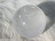 "2.32"" QUARTZ SPHERE NATURAL CRYSTAL BALL BRAZIL 58.9 mm"