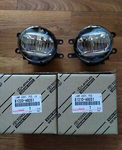 2011-2020 OEM NEW TOYOTA LEXUS LED FOG LAMPS SIENNA TACOMA AVALON  PAIR L/R