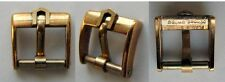 Watch Buckle Universal 11 mm Gold Plated
