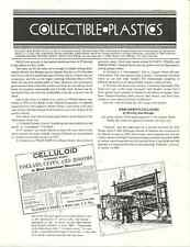 Collectible Plastics - Vol 1, No 9/10 - Celluloid, Sorrento, Pyralin, Pierretone