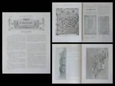 LA CONSTRUCTION MODERNE n°35 1907 PALAIS EXPOSITION, ANATOLE DE BAUDOT