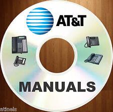 AT&T Telecom Phone SYSTEM Magix Lucent Avaya PARTNER User Install MANUALS DVD