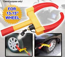 Car Auto Vehicle Caravan Trailer Anti Theft Safety Security Wheel Clamp Lock