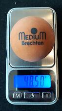 Minigolfball Medium Brechten orange bespielt unmarkiert