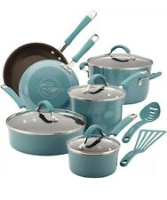 Rachael Ray Pots And Pans Cucina Cookware Sets Nonstick Aluminum - NEW IN BOX