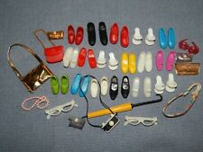 Vintage 1960's Pedigree SINDY TRESSY Doll Shoes,Bags,Spectacles Camera & more