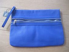 Atmosphere by Primark Zipper Clutch in blau Handtasche Tasche