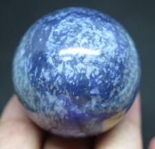 40mm 3.4OZ NATURAL Blue AVENTURINE CRYSTAL Sphere Ball