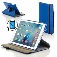 Forefront Custodie Pelle Blu Cover Apple iPad Air 2 Proteggischermo Stilo