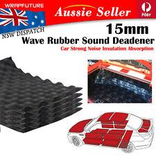 4pcs 50CMx30CM Sound Deadener Insulation Noise Proofing Car Door Trunk 15mm Wave