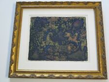 VINTAGE CHINESE MODERNISM ETCHING AQUATINT ABSTRACT EXPRESSIONISM SIGNED LIMITED