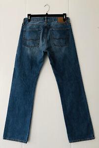 MINT Mens AMERICAN EAGLE Original Straight Leg ZipFly Denim Jeans 31x32
