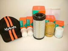 GENUINE Filter Kit Kubota G23 Mower, Air, Oil, Fuel & HST Filters & Free Gift!