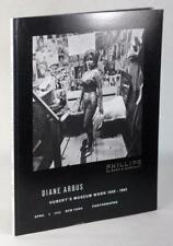 Diane Arbus Catalog Hubert's Museum Work 1958-1963 Phillips De Pury Auction
