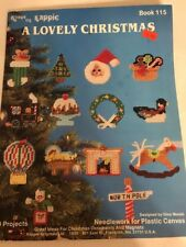 Christmas ornament Plastic Canvas ornaments pattern booklet nativity nutcracker