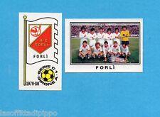 PANINI CALCIATORI 1979/80-Figurina n.505- FORLI' -SCUDETTO+SQUADRA-Rec