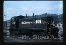 Original Slide PC Penn Central /PRR Paint SW7 9074 Pitcairn PA 1975