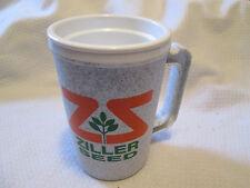 Vintage Plastic Mug ZILLER AGRIPRO Seed Farm  Advertising