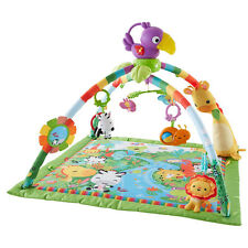Fisher Price Rainforest Music & Lights Deluxe Gym NEW