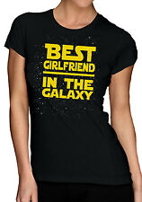 Best Girlfriend In The Galaxy T-Shirt - Star Wars Themed Birthday Christmas Gift