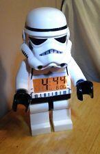 "10"" tall Lego STAR WARS Stormtrooper Minifig Figure Light Up Alarm Clock"