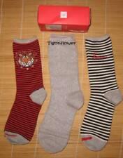 GAP Socks 3 Pairs WOMEN CREW Socks Gift Set Gift Box Tiger