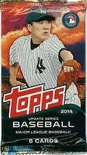 2014 Topps Update Series Baseball - 1 RETAIL Pack, 8-Cards Springer, Mookie RCs?