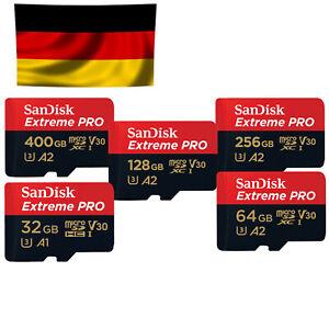 SanDisk Extreme Pro micro SD 32 - 400GB in OVP, für 4K geeignet