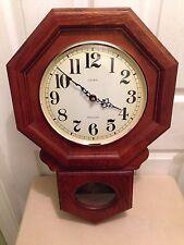 Vintage Linden Westminster Chime Wall Clock ( Works Great )
