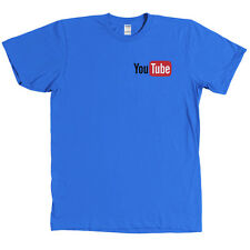 YouTube Chest Logo T Shirt You Tube Tee MANY COLORS - NEW WITH TAGS
