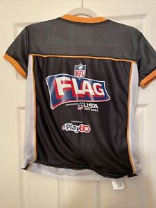 Steelers NFL Flag Football Reversible Jersey (size Youth Medium)