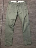J Crew Mens 29 x 30 (ACTUAL 30 x 29) 484 Slim Fit Pant Broken In Chino 03226