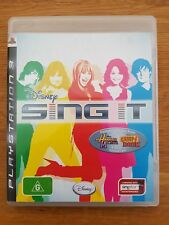 Disney Sing It PS3 Complete Playstation 3