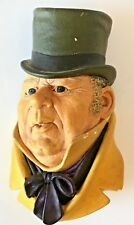 Chalkware Figure, Mr. Micawber (Dickens Character), Bossons, England, 1954
